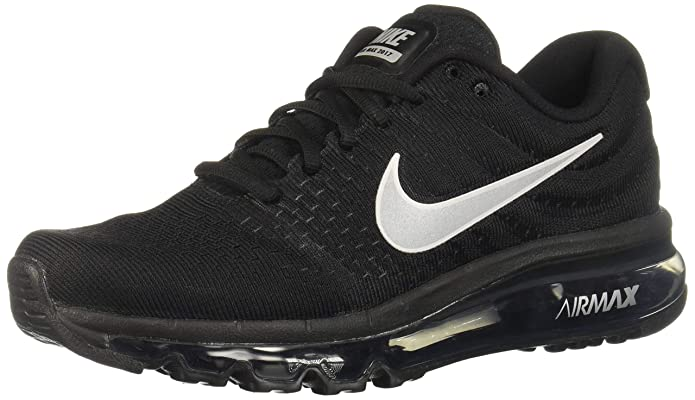 a53e712c45d5a Amazon.com | Nike Womens Air Max 2017 Running Shoes Black/White/Anthracite  849560-001 Size 10 | Road Running
