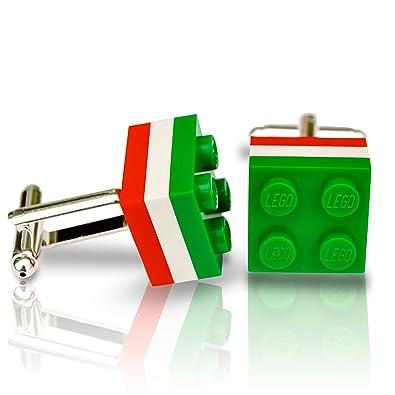 LEGO LEICESTER TIGERS mancuernas de la boda, novio, para regalo: Amazon.es: Joyería