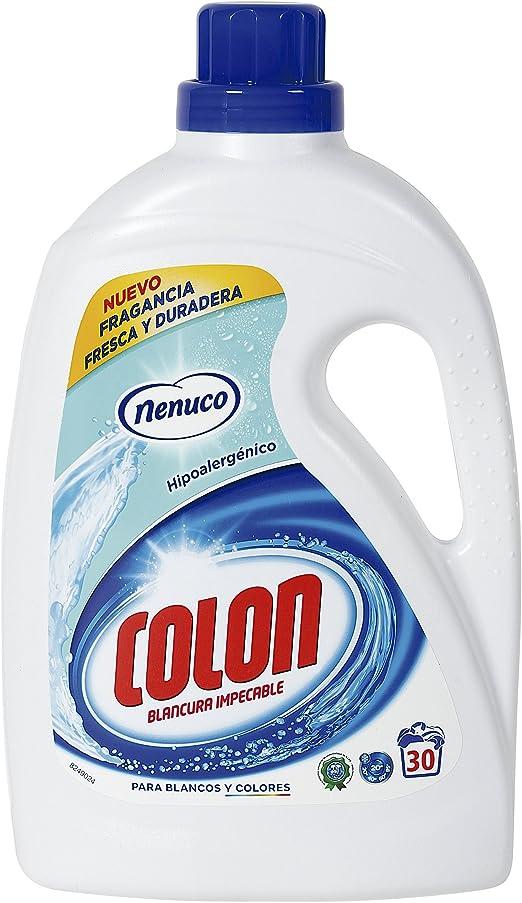 COLON detergente máquina líquido gel nenuco botella 30 lv: Amazon.es: Alimentación y bebidas