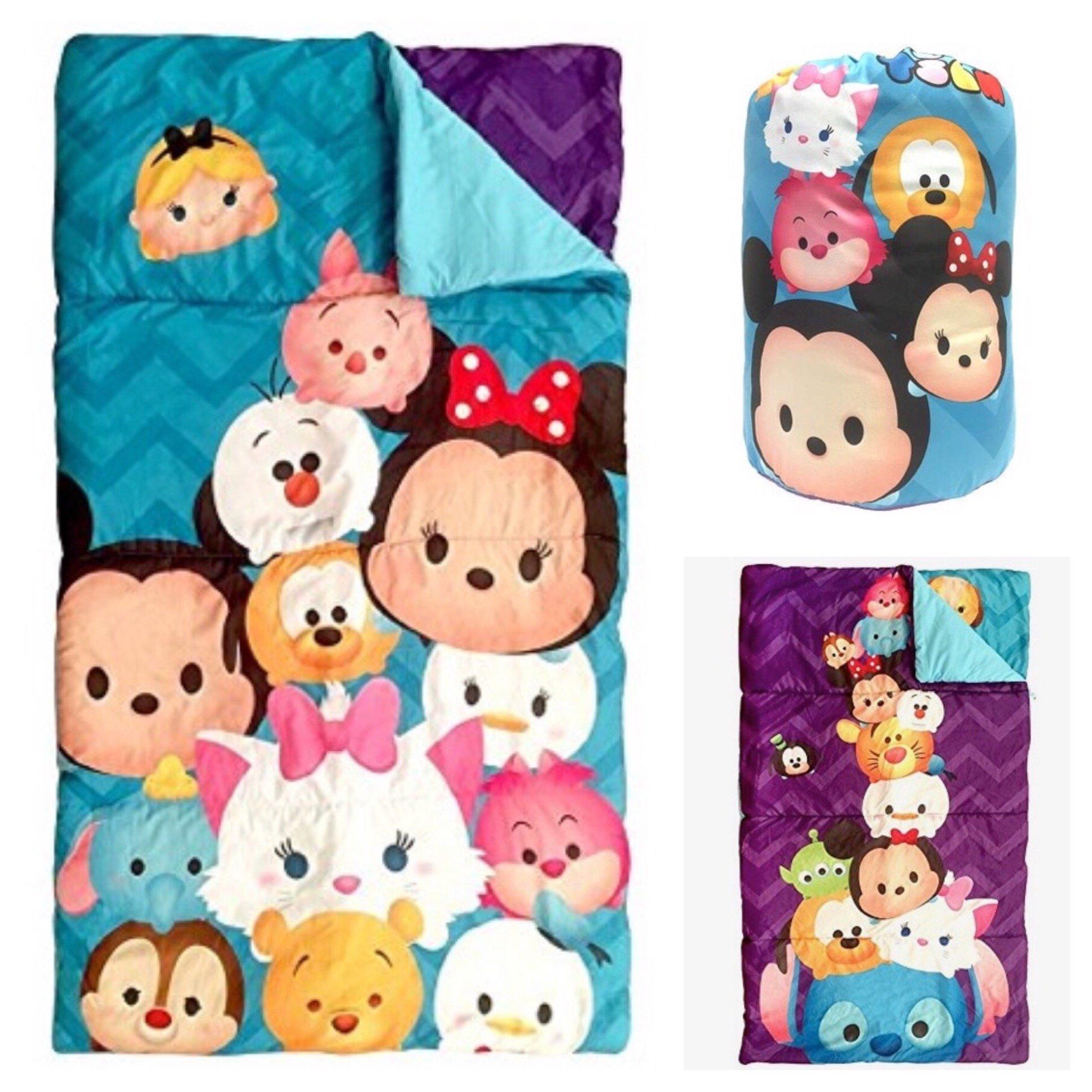 Tsum Tsum Reversible Slumber Bag - Kids