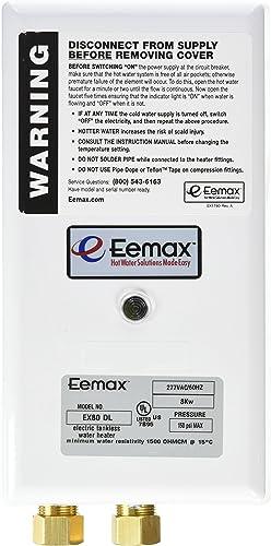 Eemax EX80 DL 8.0KW 277V Flow Co Dual Lav