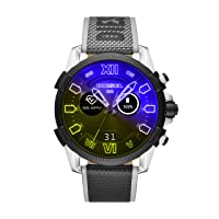On Men's Gen 4 Full Guard 2.5 HR Heart Rate Nylon Touchscreen Smart Watch, Color: Multicolor (Model: DZT2012)