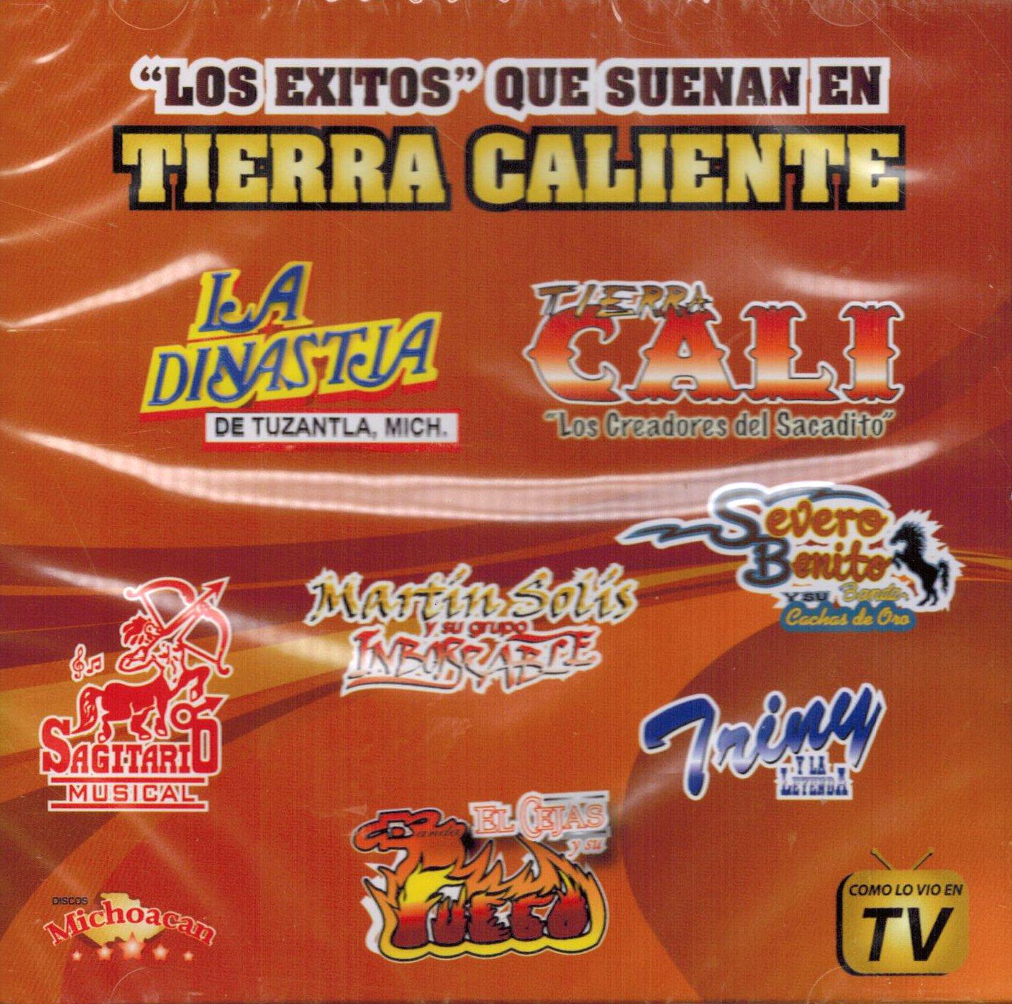 Los Exitos que suenan en Tierra Caliente (Varios Artistas CDMICH-5023)