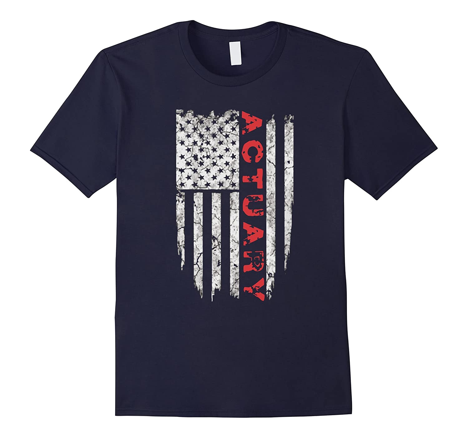 American Actuary T-Shirt Proud Actuary USA Tee Shirts-PL