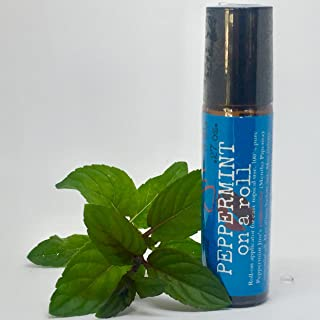 product image for Peppermint Jim Essential Oil Roller Applicator, Peppermint