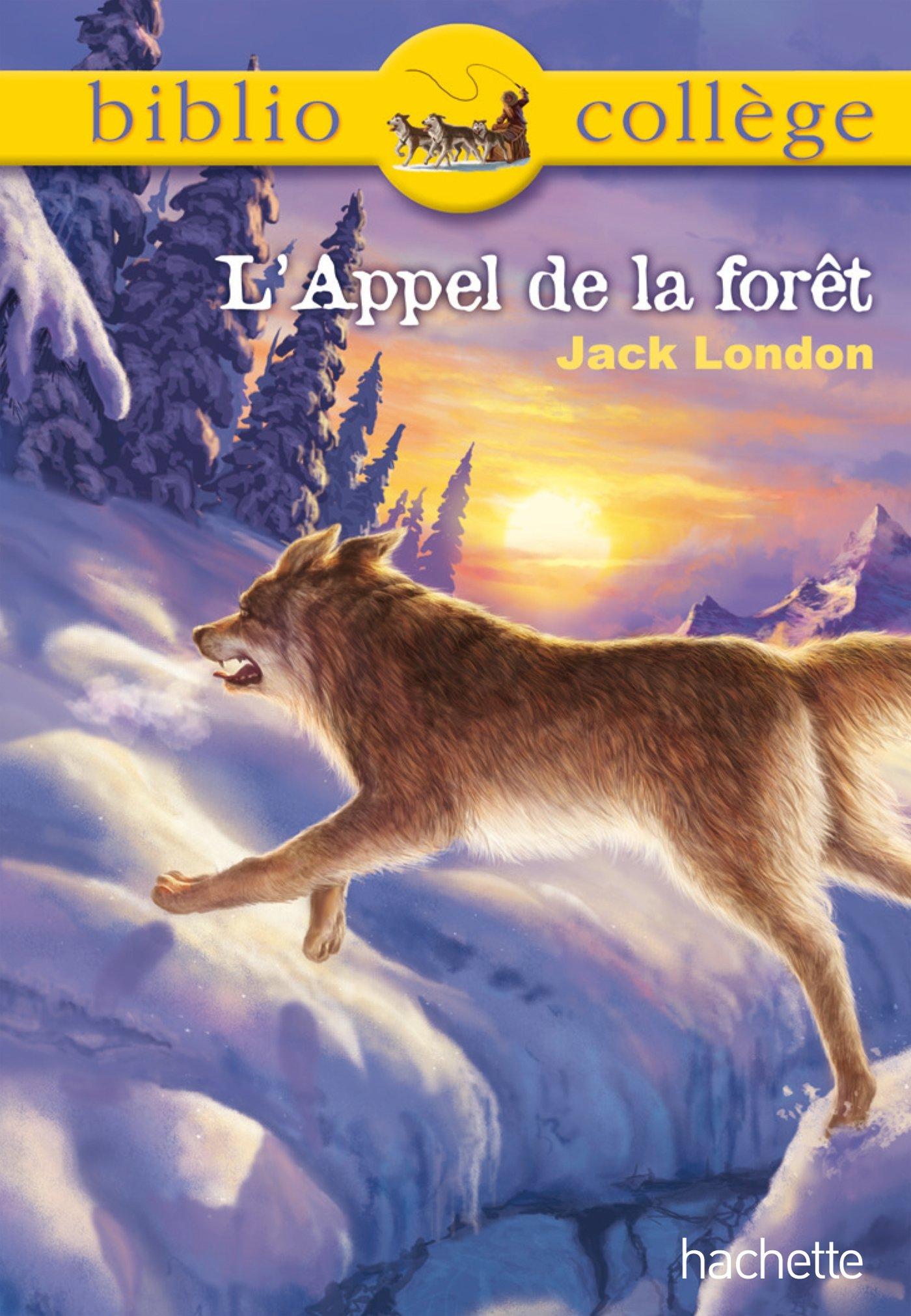 Bibliocollège - L'Appel de la forêt Poche – 3 avril 2013 Jack London Hachette Éducation 2012815375 Classiques pédagogiques