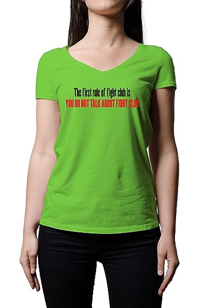 Club Lucha Mujer Corta Para Regla La Camiseta De Manga vqwgpZUx