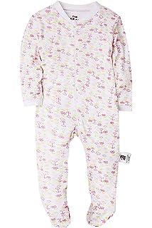 b3e99e902942 Amazon.com  Baby Boys Girls Footed Pajama - Zip Front 100% Cotton ...