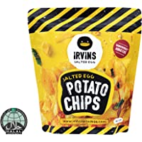 IRVINS Salted Egg Potato Chips, 105g