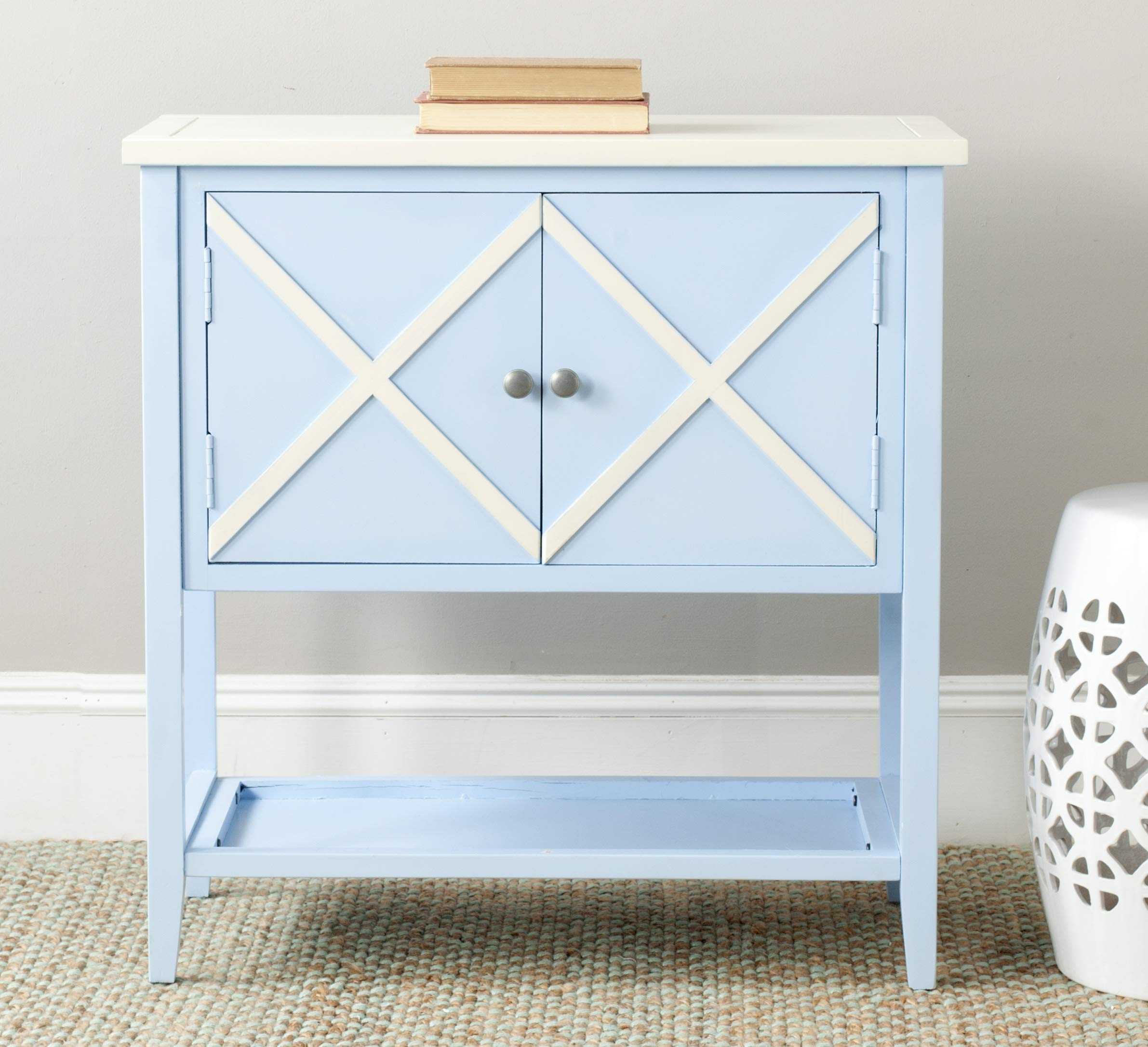 Safavieh American Homes Collection Polly Light Blue Sideboard