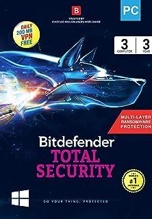 bitdefender total security 2018 subscription key