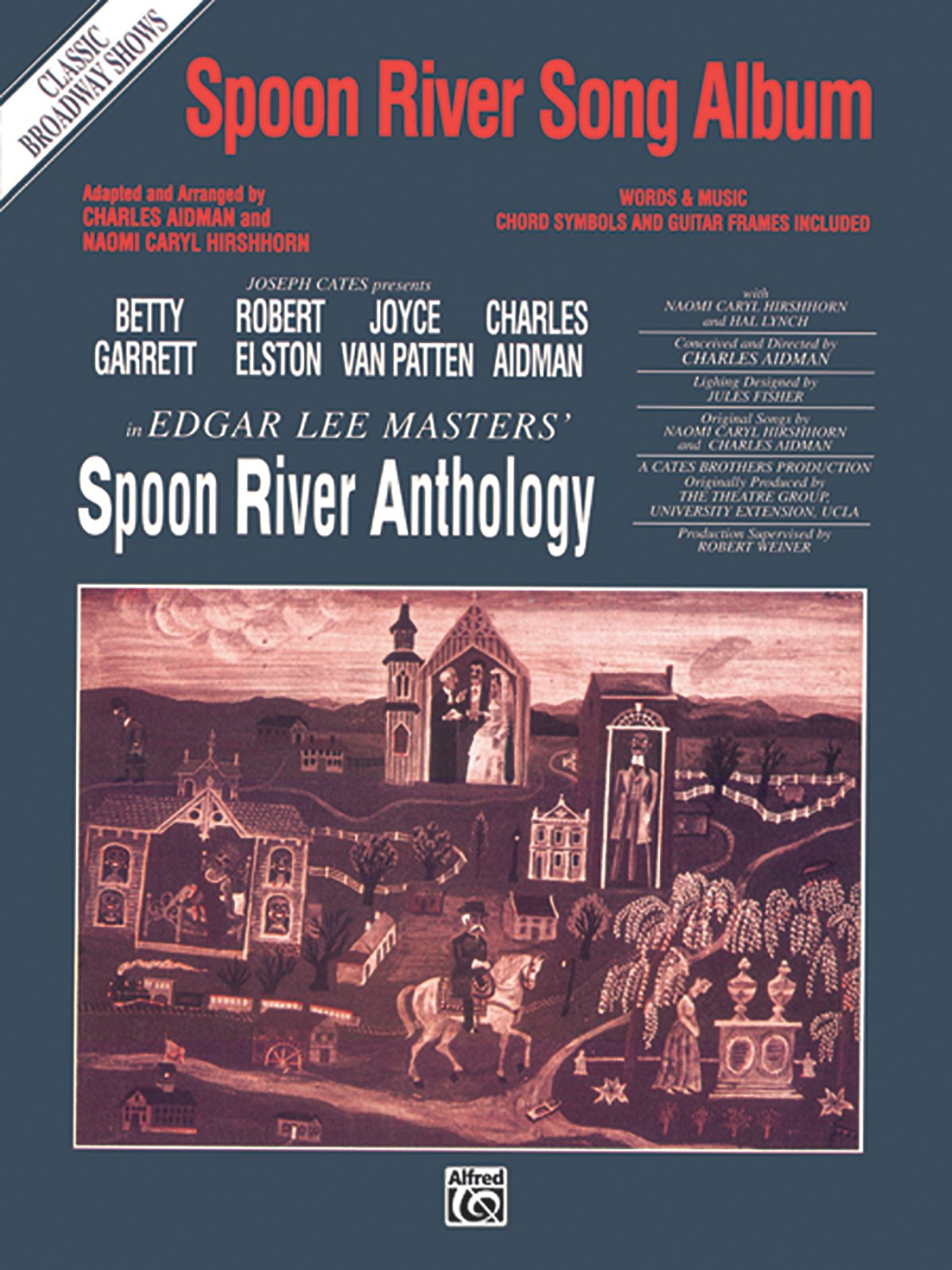 Spoon River Song Album (Classic Broadway Shows): Piano/Vocal/Chords