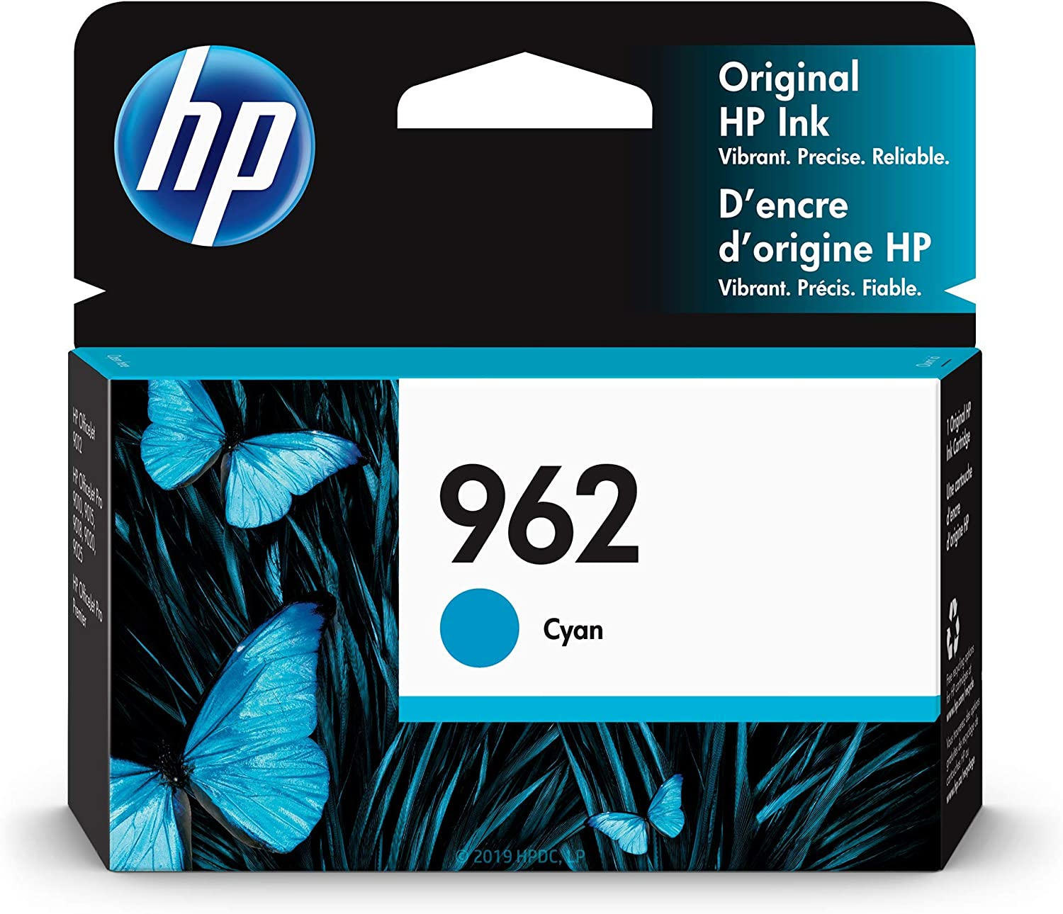 HP 962 | Ink Cartridge | Cyan | 3HZ96AN (3HZ96AN#140)