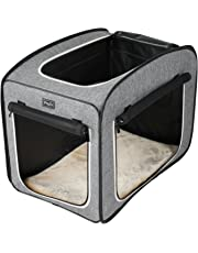 "Petsfit Portable Pop Open Pet Play Cube, Lightweight Soft Dog Crate,27""L x 18""W x 22""H"