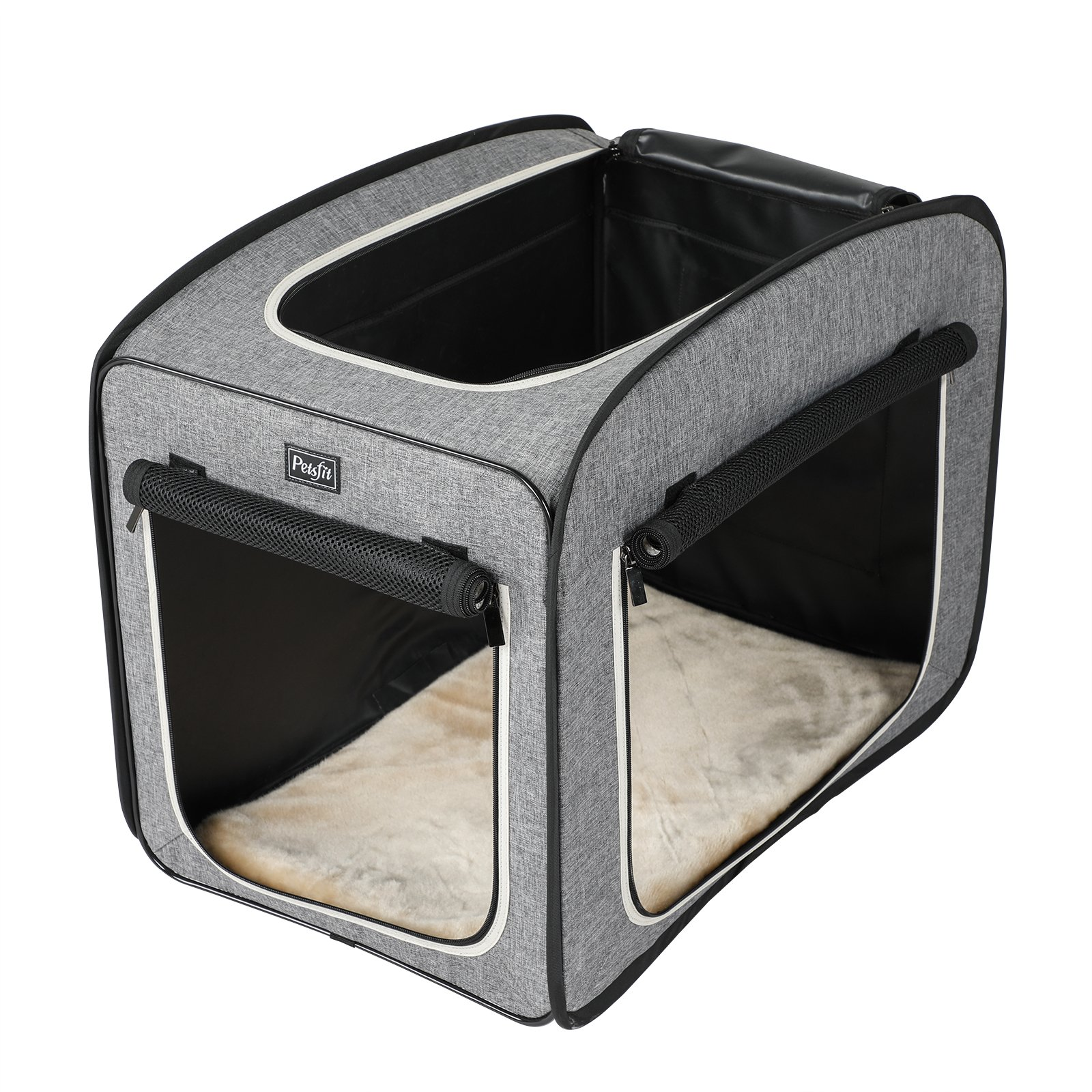 Petsfit 27''x18''x22'' Portable Pop Open Cat Kennel,Cat Cage,Dog Kennel,Cat Play Cube,Lightweight Pet Kennel by Petsfit