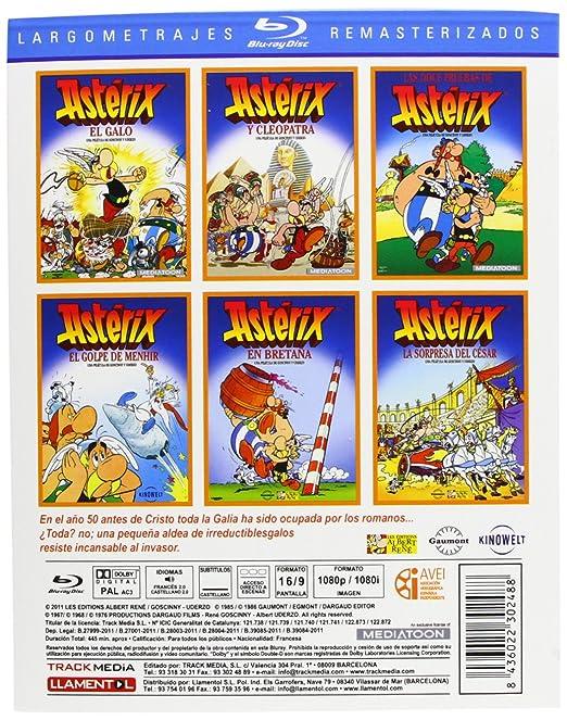 Pack Asterix [Blu-ray]: Amazon.es: Cine y Series TV