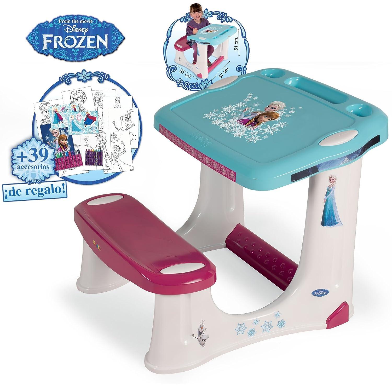 Smoby 28116 Frozen Pupitre Frozen 39 Accesorios Escolares  ~ Pupitre Infantil El Corte Ingles