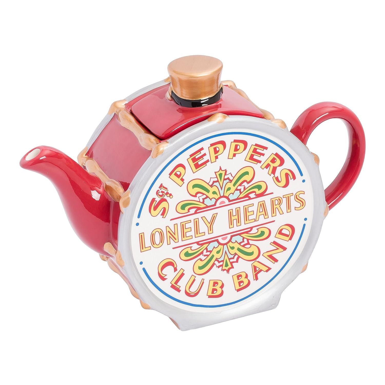 Amazon.com | Vandor The Beatles Sgt Pepper\'s Teapot (72008): Coffee ...