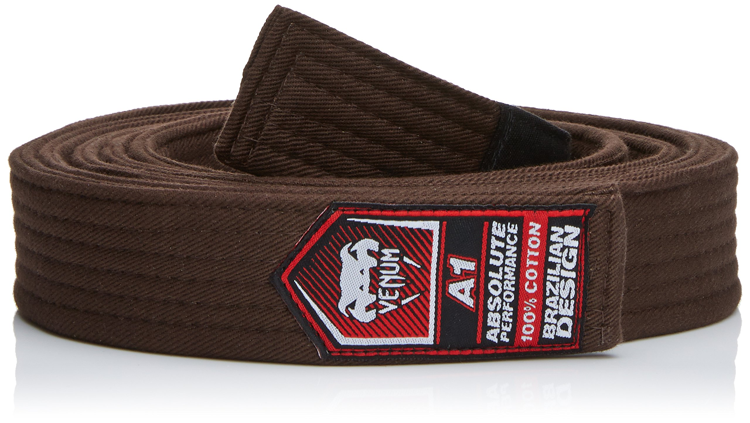 Venum BJJ Belt, Brown, A3 by Venum