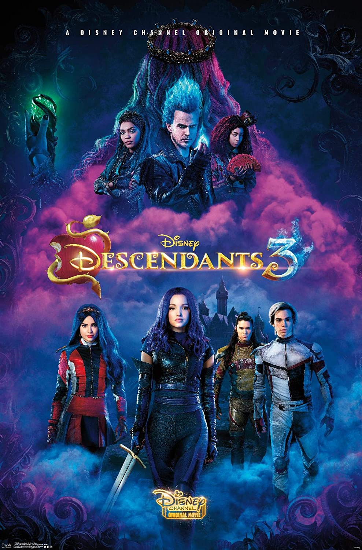 Trends International Disney Descendants 3 - One Sheet Wall Poster, 22.375