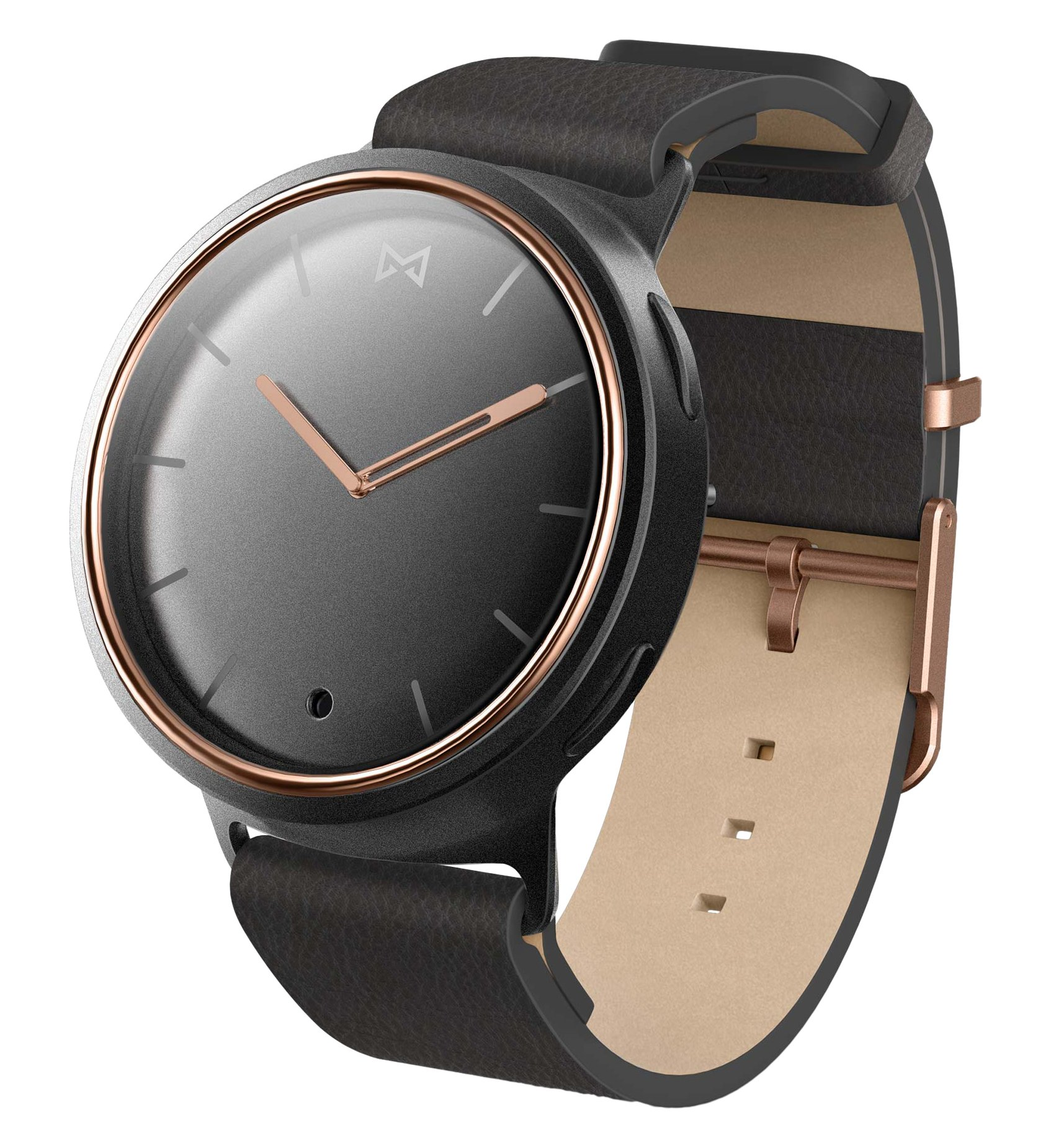 Misfit Phase Hybrid Wearables Smartwatch MIS5002  - Black
