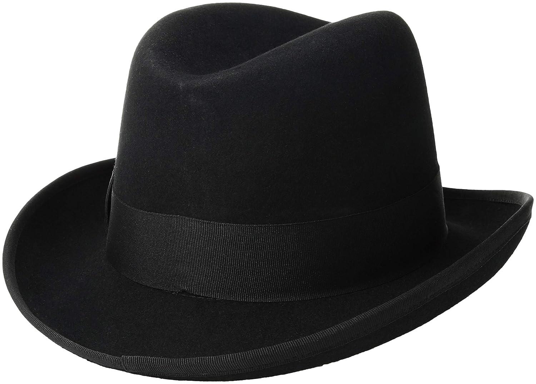 b476df75090242 Scala Classico Men's Wool Felt Homburg Hat: Amazon.ca: Clothing &  Accessories