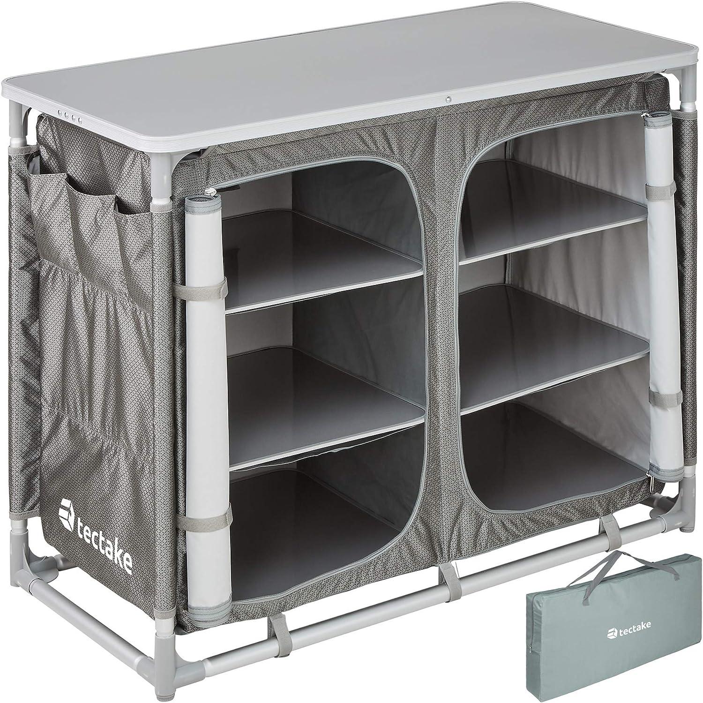 Ligera Aluminio Varios Modelos Plegable TecTake 800585 Cocina de Camping