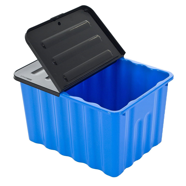 Super Kunststoffbox mit abnehmbarem und klappbarem Deckel - 70 Liter  TE69