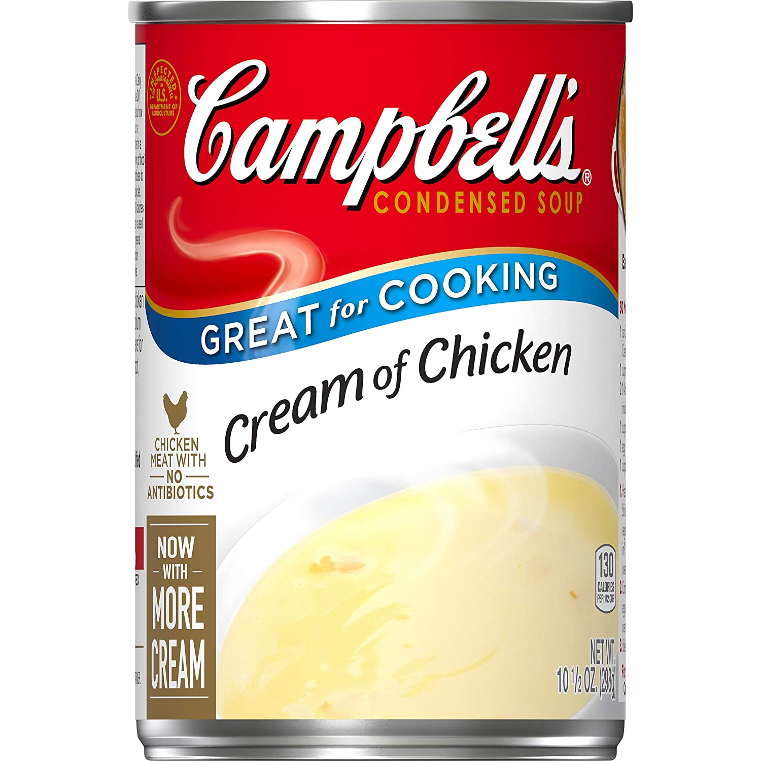 Amazon Com Campbell S Condensed Cream Of Chicken Soup 10 5 Oz Can Grocery Gourmet Food