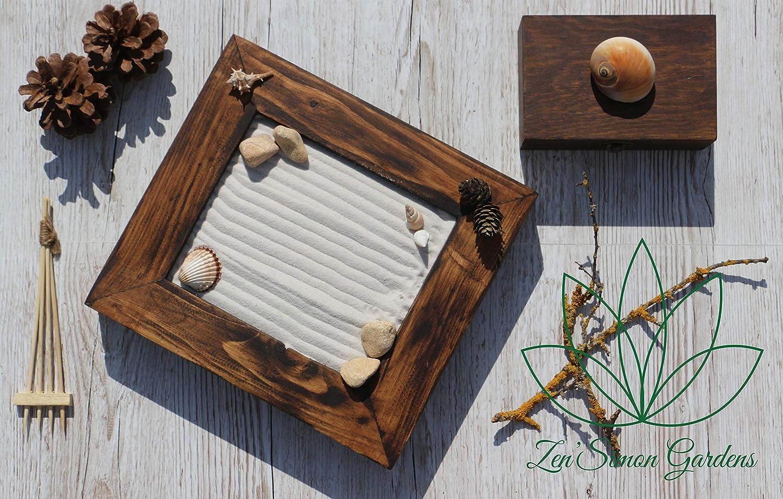 Jardin zen para Interior de Hogar o para la Decoracion en estilo Feng shui ॐ Zensimongardens®: Amazon.es: Handmade
