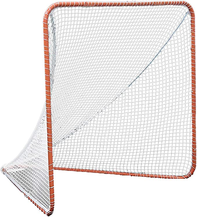 Kapler Regulation 6' x 6' Lacrosse Net with Steel Frame - Heavy-duty Frame