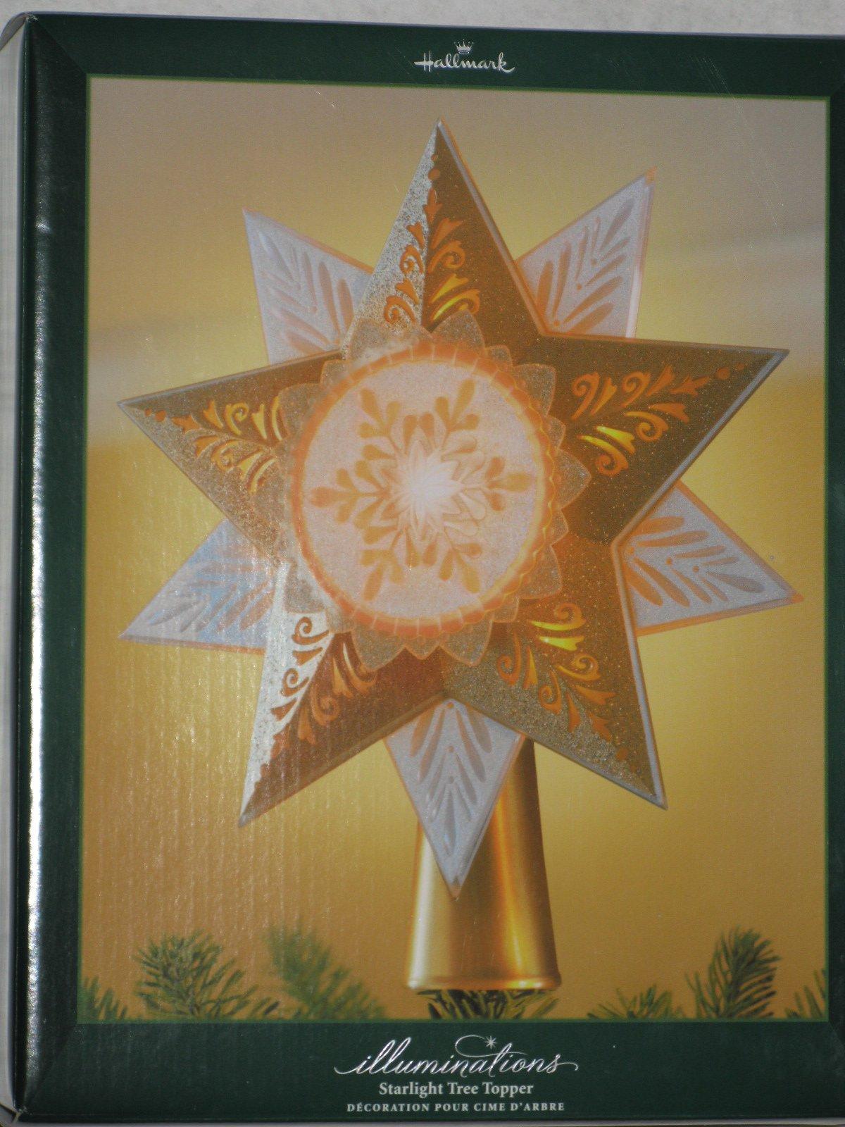 Hallmark Illuminations Starlight Tree Topper 2005 QLM7972