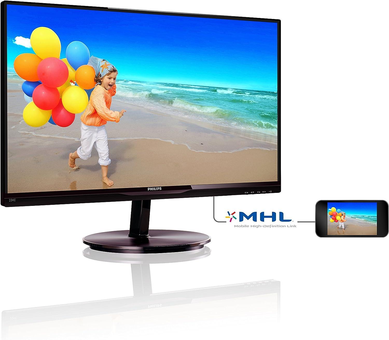 Philips 234E5QDAB/00 - Monitor de 23