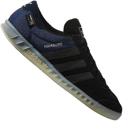 Amazon.com: adidas Originals Hamburg Tech - Core Black 11 CORE ...