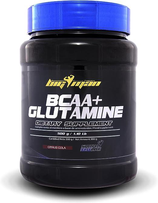 Big Man Nutrition BCAA + Glutamine Aminoácidos Ramificados ...