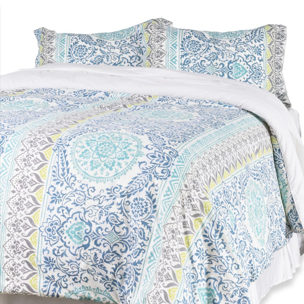 3-Piece Reversible Anna Comforter Set
