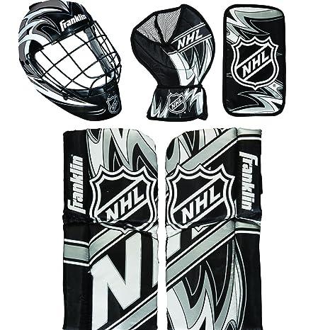 5d7e014688a Amazon.com   Franklin Sports 12436 NHL Mini Hockey Goalie Equipment ...