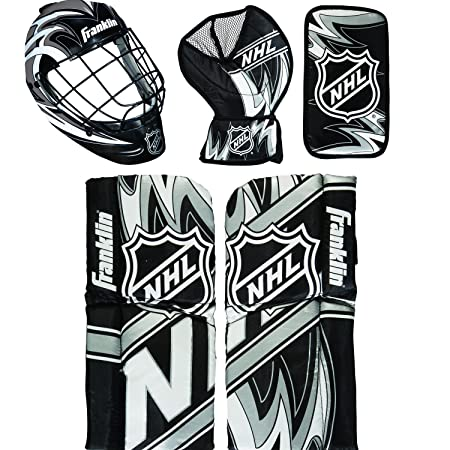 Amazon Com Franklin Sports 12436 Nhl Mini Hockey Goalie Equipment