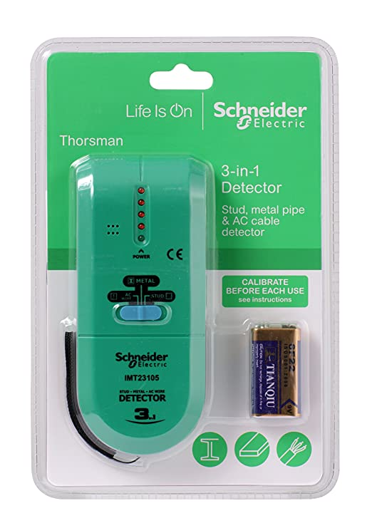 Schneider Electric imt23105 3-in-1 Thorsman LED Detector, 60 V, Verde/Gris: Amazon.es: Bricolaje y herramientas