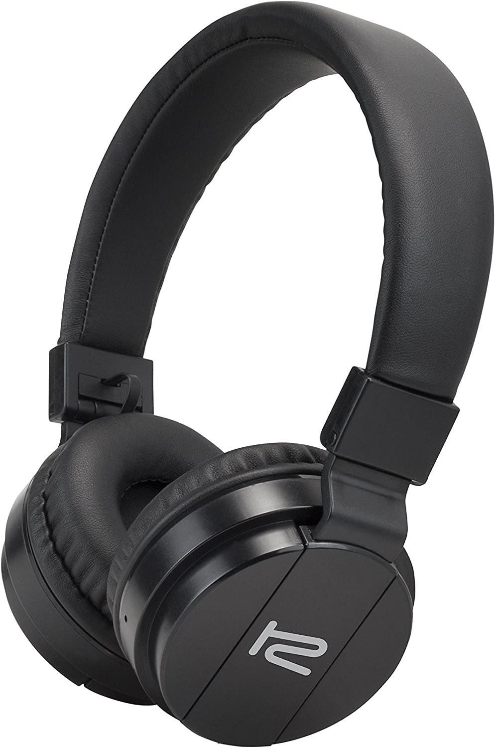Klip Xtreme Fury Stereo Blue-Tooth Wireless Headphones- On-Ear with Built-in Microphone, Foldable & Lightweight- Soft Protein Leather Pads- Large 40mm Speaker Drivers- Black Color