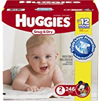 Huggies 246 Count Size 2 Snug & Dry Diapers