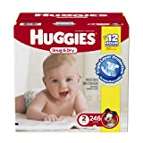 Amazon Price History for:Huggies Snug & Dry Diapers, Size 2, 246 Count (One Month Supply)