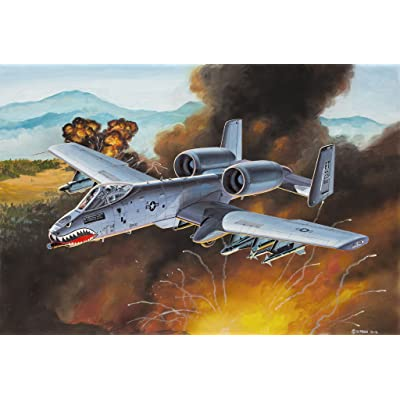 Revell A-10 Thunderbolt II 1:100 Scale Snap Together Kit: Toys & Games