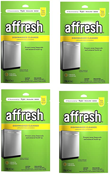 Affresh – Pastillas limpiadoras para lavavajillas limpiador ...