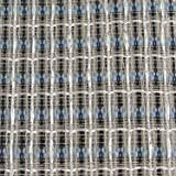 "Cabinet Grill Cloth, Silver/White with Blue Accent, 34"" Width"