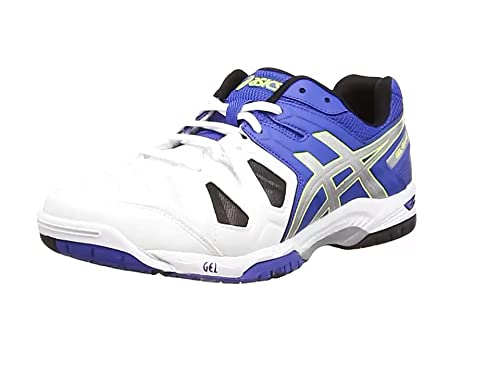 low priced 5d08a d7f46 ASICS Gel-Game 5 Hommes Tennis Chaussures E506Y Sneakers (UK 5 US 6 EU
