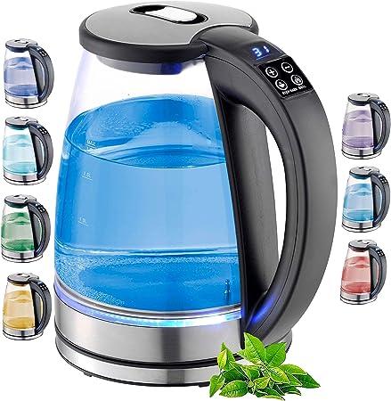 1,8L Elektrischer Edelstahl Wasserkocher Temperaturwahl
