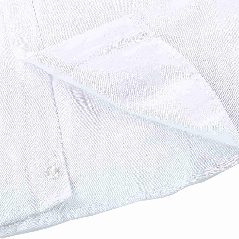 Bienzoe Ragazzi Uniforme Scolastica Manica Lunga Oxford Camicia Pacco