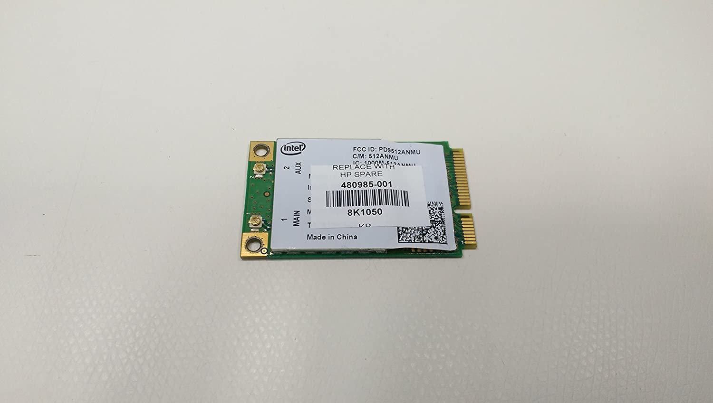HP Compaq 6730B WiFi Link 5100 Wireless N Mini PCI-E Card- 480985-001