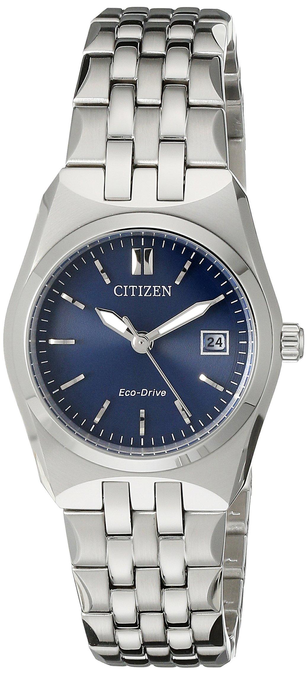 Citizen Eco-Drive Women's EW2290-54L Stainless Steel Bracelet Watch
